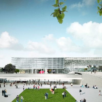 Parc des Expositions de Toulouse par OMA