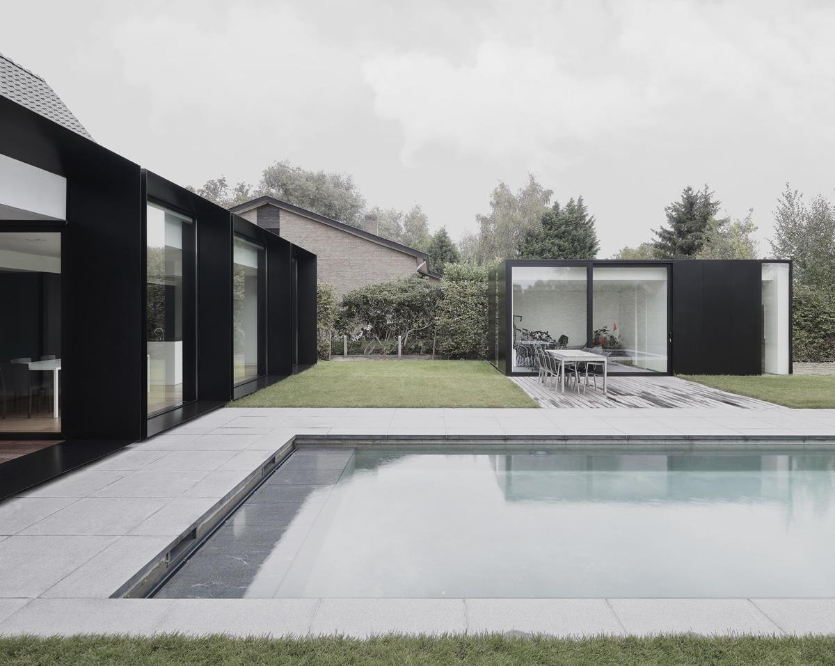Maison DS à Gand en Belgique par Graux & Baeyens - Actuarchi