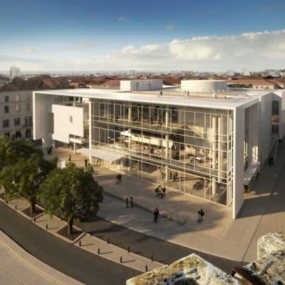 Proposition de Richard Meier et Partners