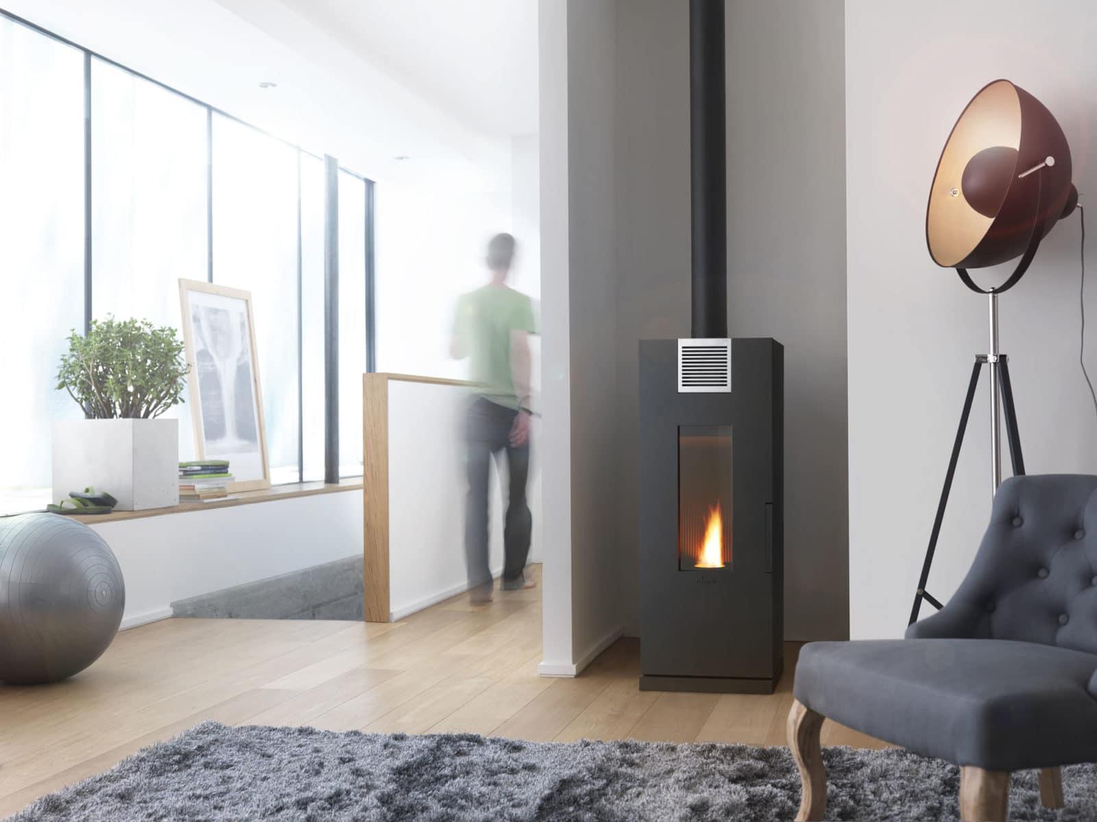 petit poele granule. Black Bedroom Furniture Sets. Home Design Ideas