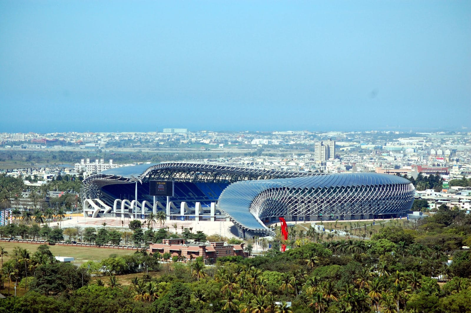 Stade de Kaohsiung - 2009 © Fu Tsu Construction Co., Ltd