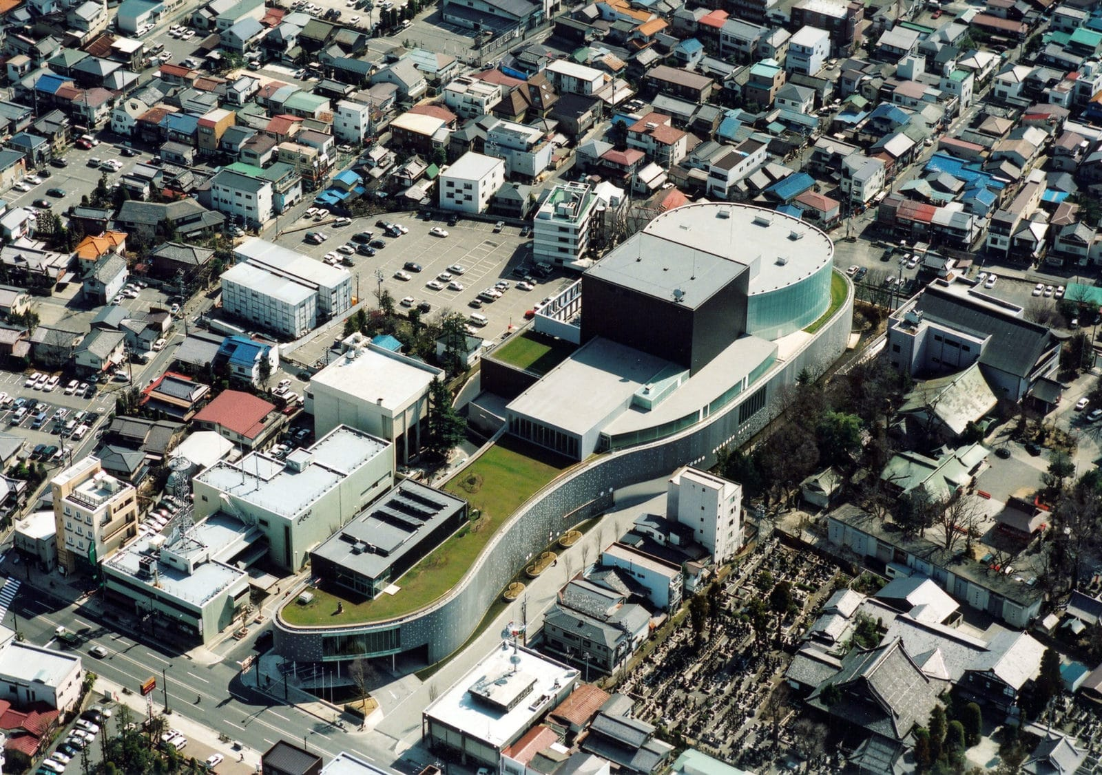 Centre d'arts Matsumoto - 2004 © Hiroshi Ueda