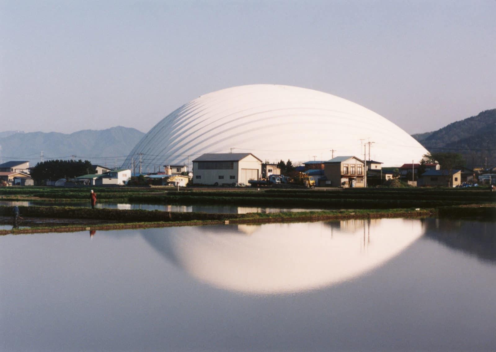 Dome d'Odate - 1997 ©   Mikio Kamaya