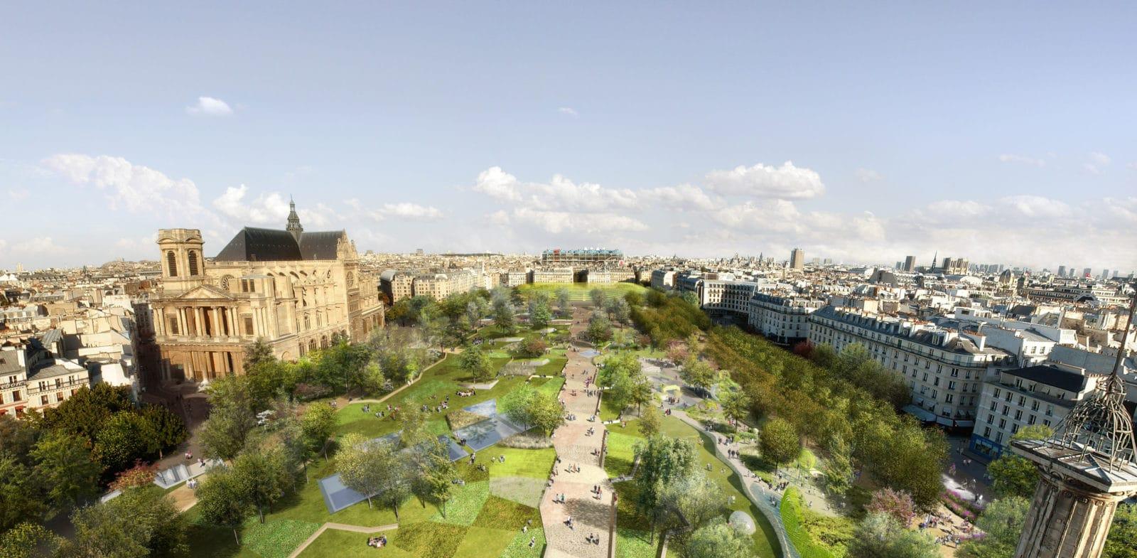 jardin des halles paris seura architectes (1)
