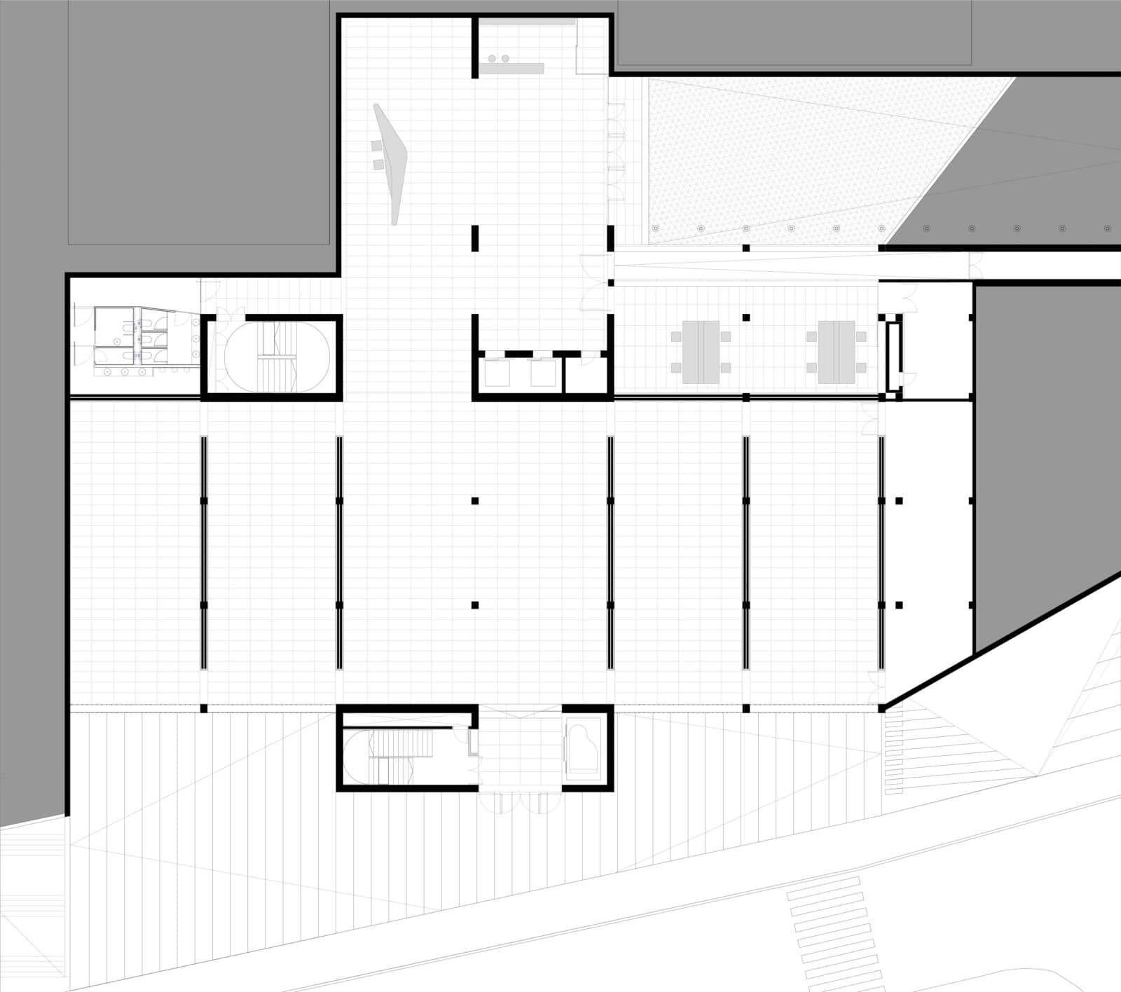 Centre culturel de castelo branco au portugal par mateo for Plan de arquitectura