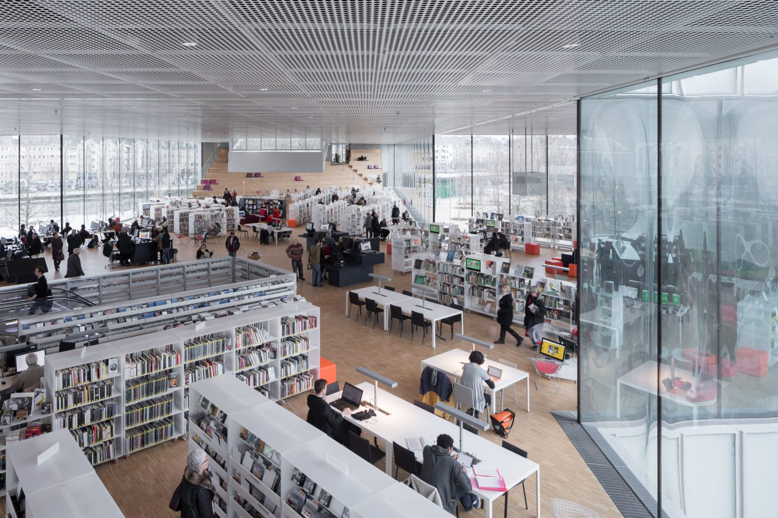 02_Bibliothèque Alexis de Tocqueville_ Photo by Iwan Baan_6702