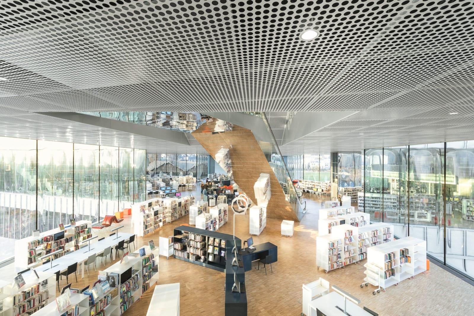 04_Bibliothèque Alexis de Tocqueville_ Photo by Delfino Sisto Legnani and Marco Cappelletti