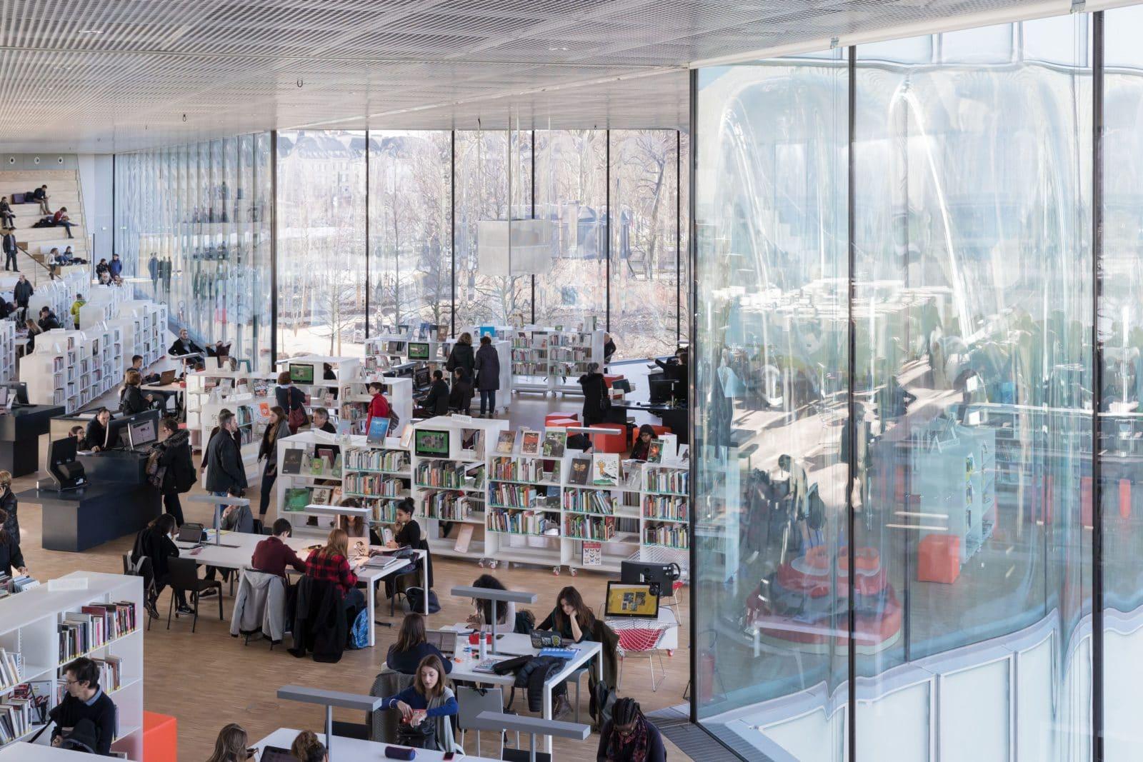 06_Bibliothèque Alexis de Tocqueville_ Photo by Iwan Baan_ 7609