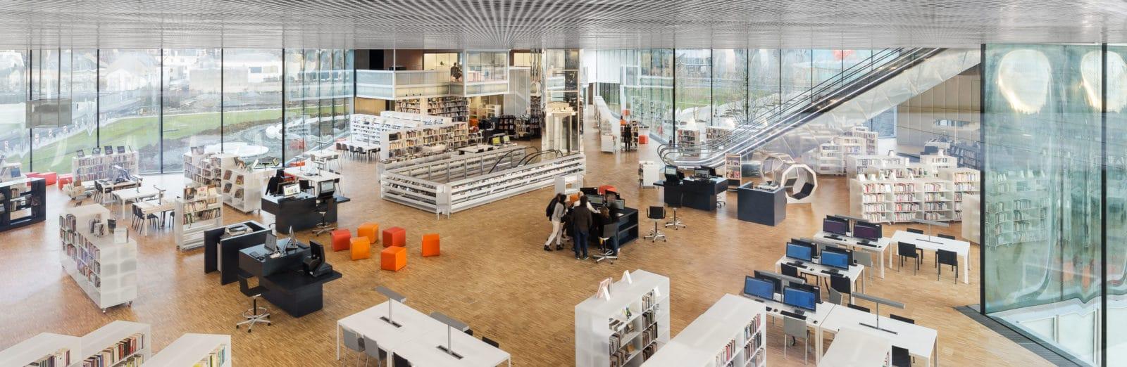 09_Bibliothèque Alexis de Tocqueville_ Photo by Delfino Sisto Legnani and Marco Cappelletti