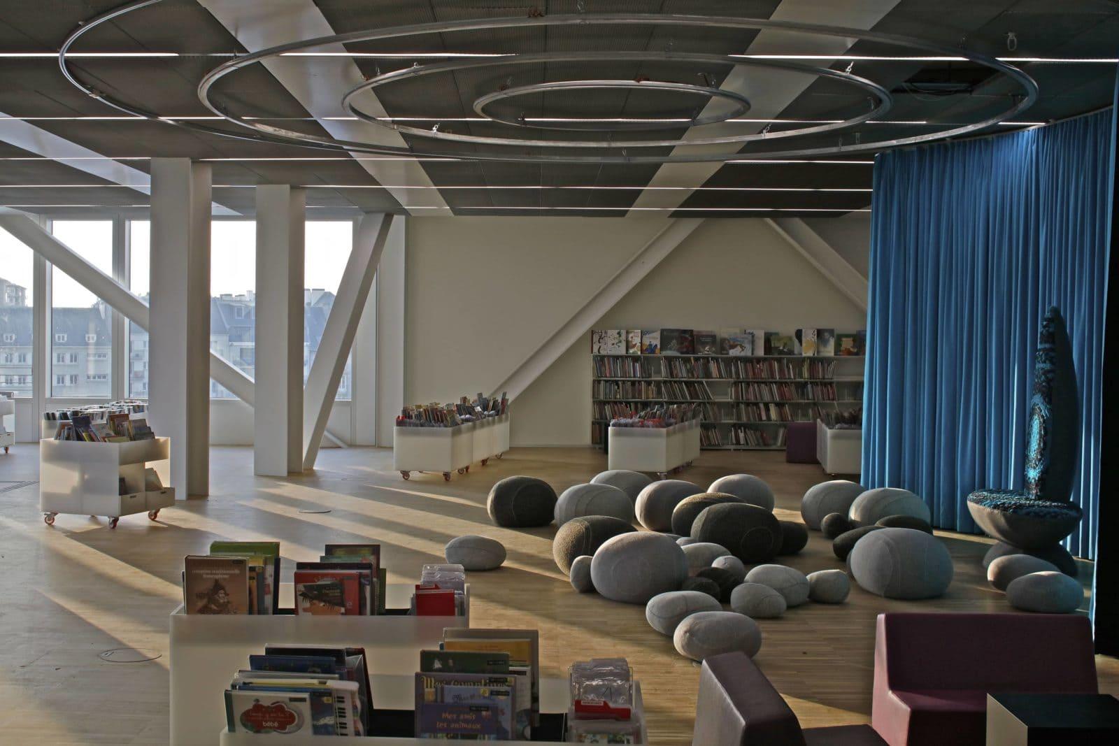 09_Bibliothèque Alexis de Tocqueville_photo Philippe Ruault