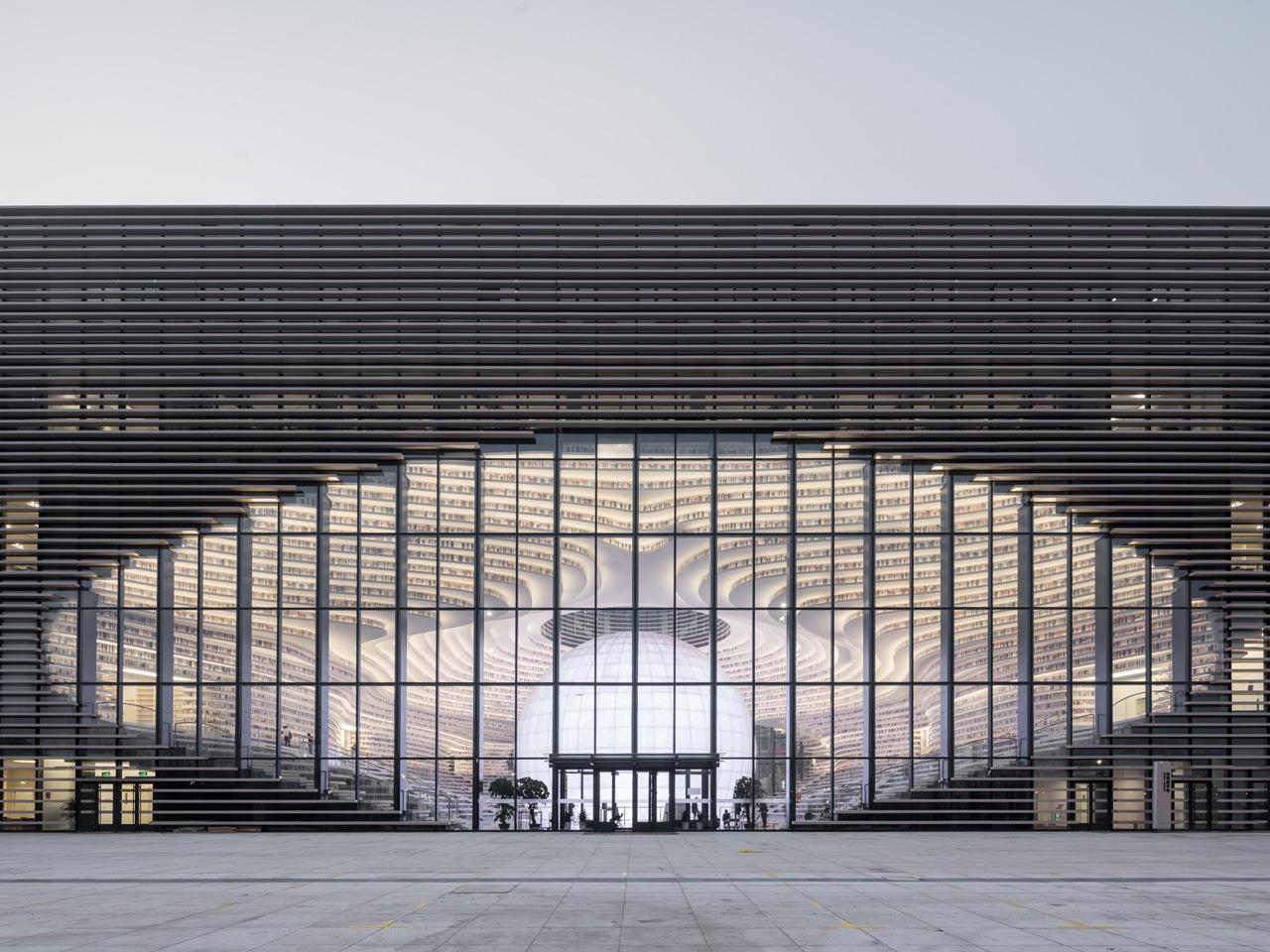 40_library mvrdv tianjin_Tianjin_Library_∏kiiwan