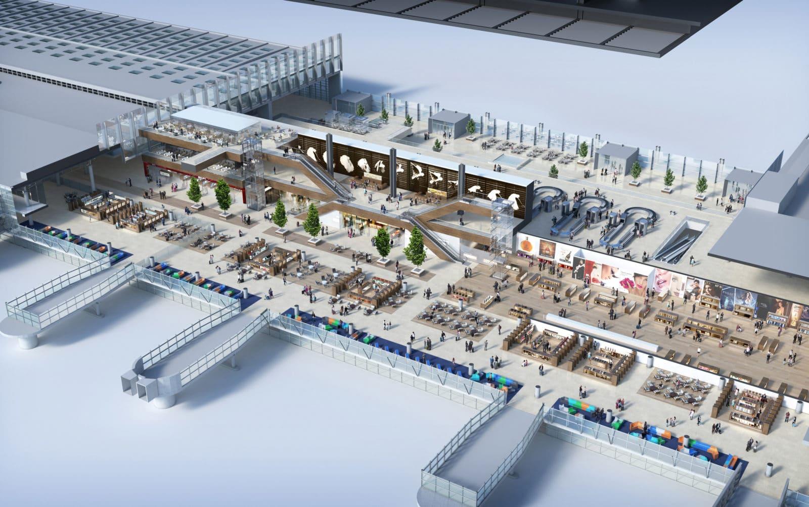 aeroport marseille extension foster 13