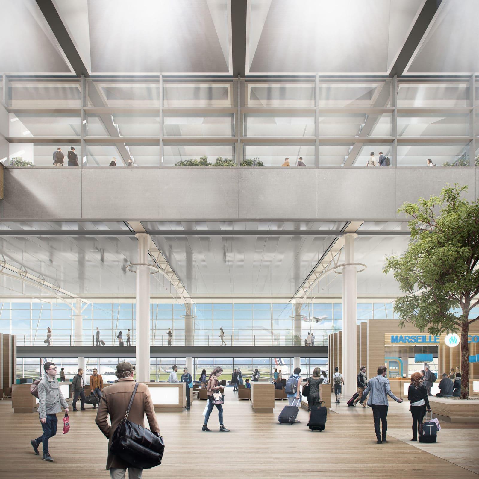 aeroport marseille extension foster 2