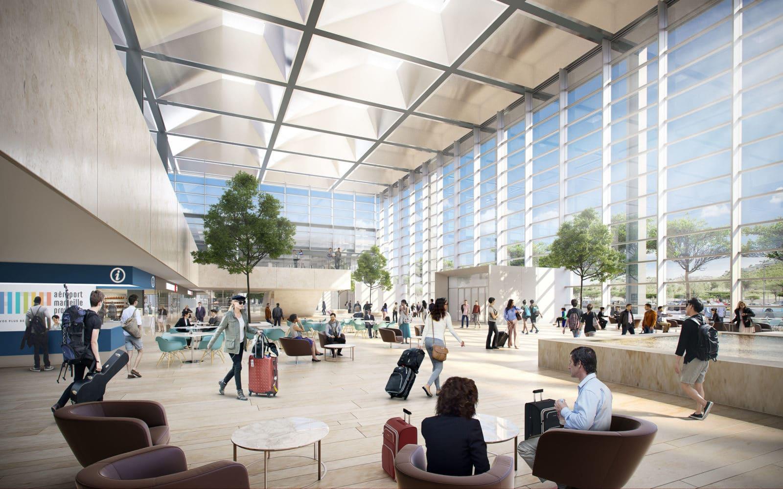 aeroport marseille extension foster 3