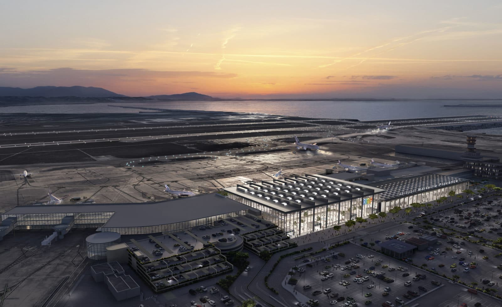 aeroport marseille extension foster 5