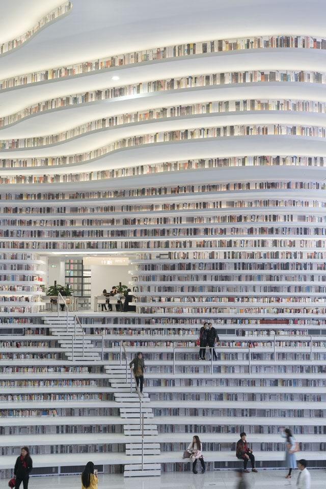 mvrdv tainjin library