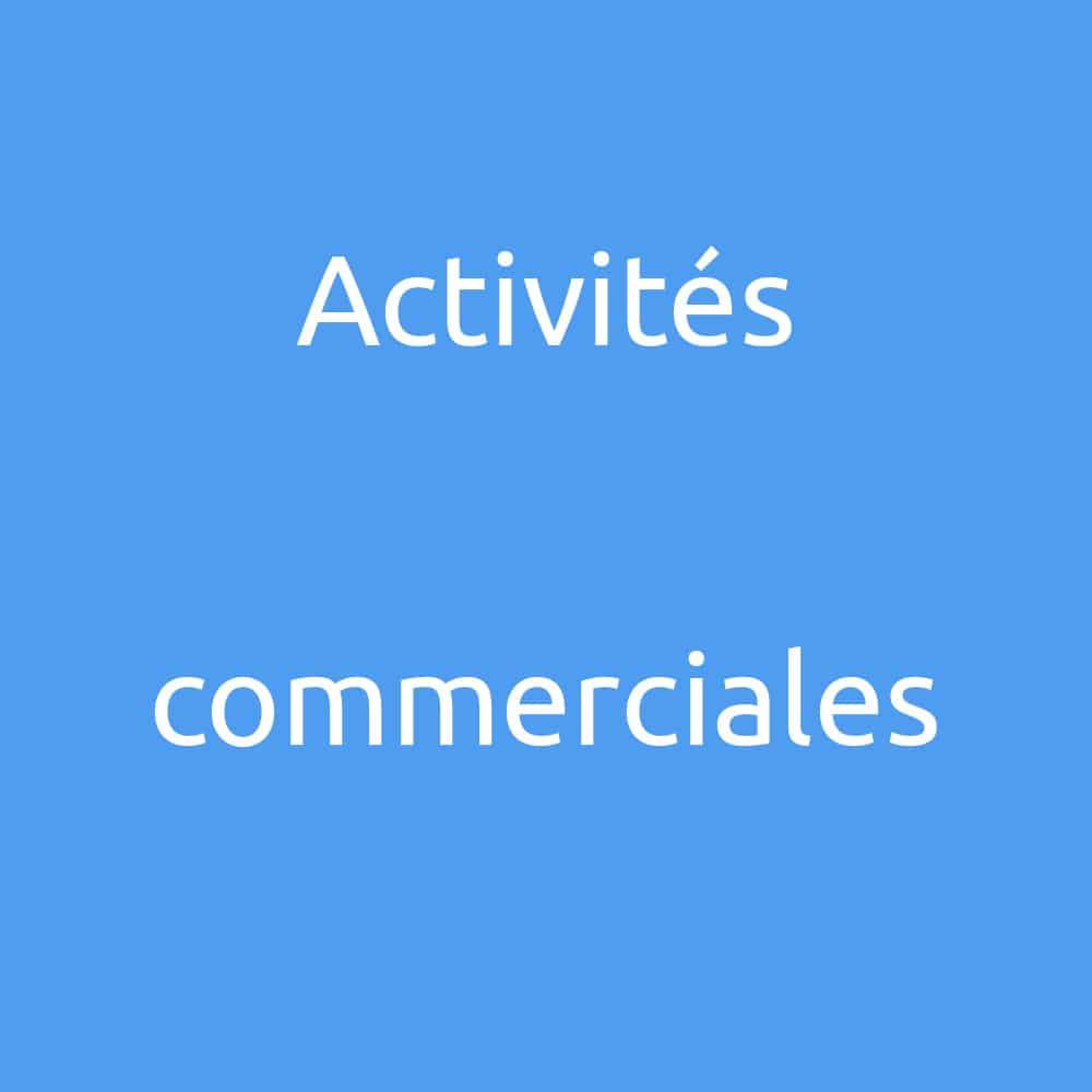 COUV projet activites commerciales