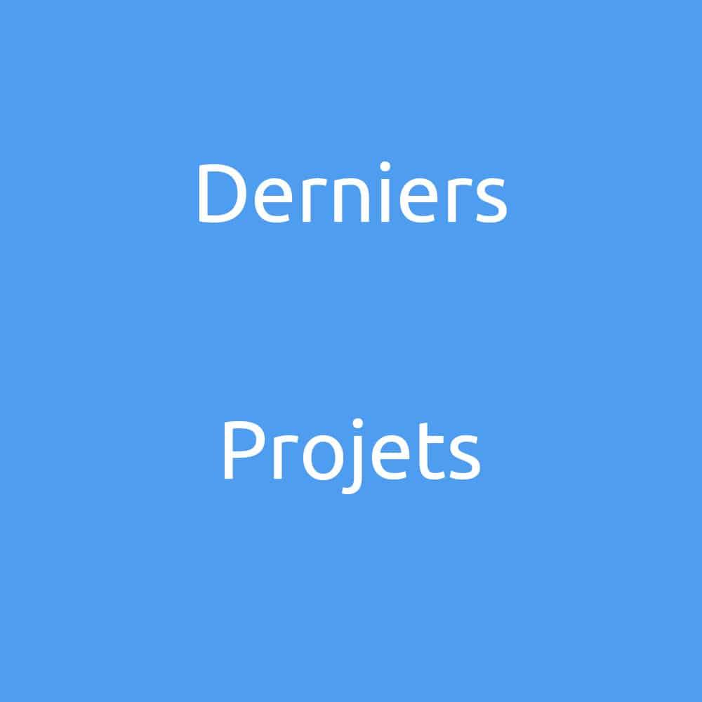 COUV projet derniers projets