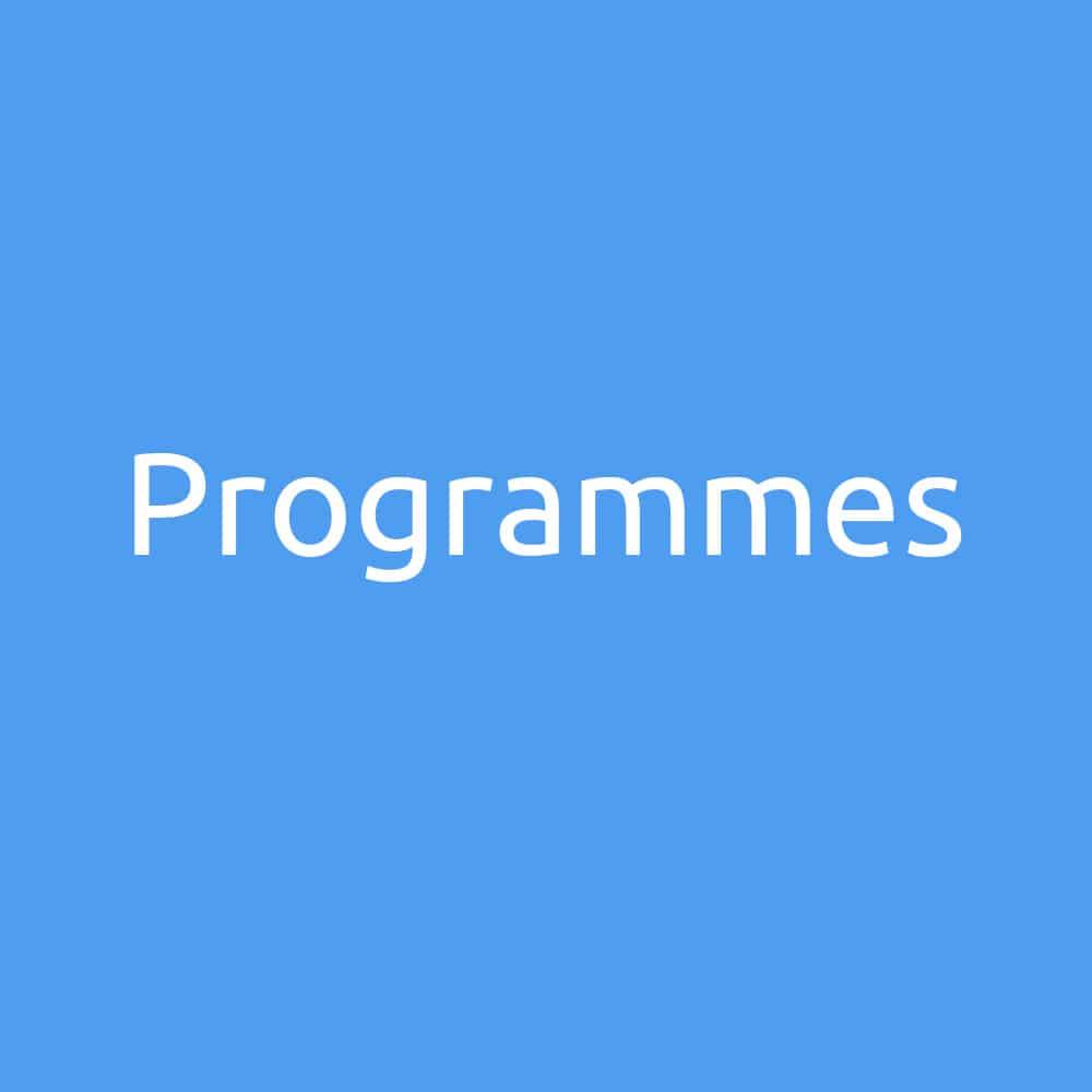 COUV projet programmes