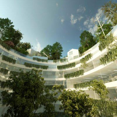 © Sou Fujimoto Architects et Manal Rachdi - OXO Architects, Compagnie de Phalsbourg et Ogic